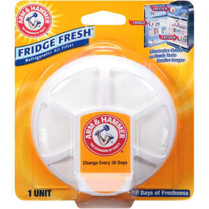 Arm & Hammer  Fridge Fresh  No Scent Refrigerator Air Filter  3.2 oz. Powder
