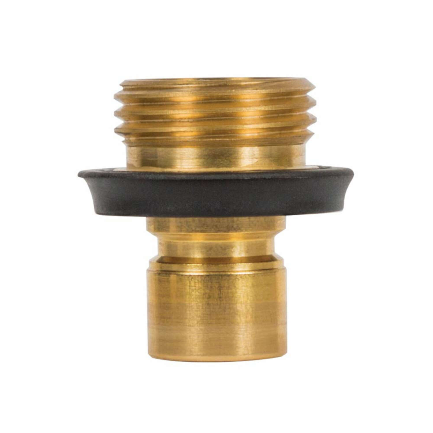 Gilmour  Heavy Duty  Brass  Threaded  Male  Quick Connector