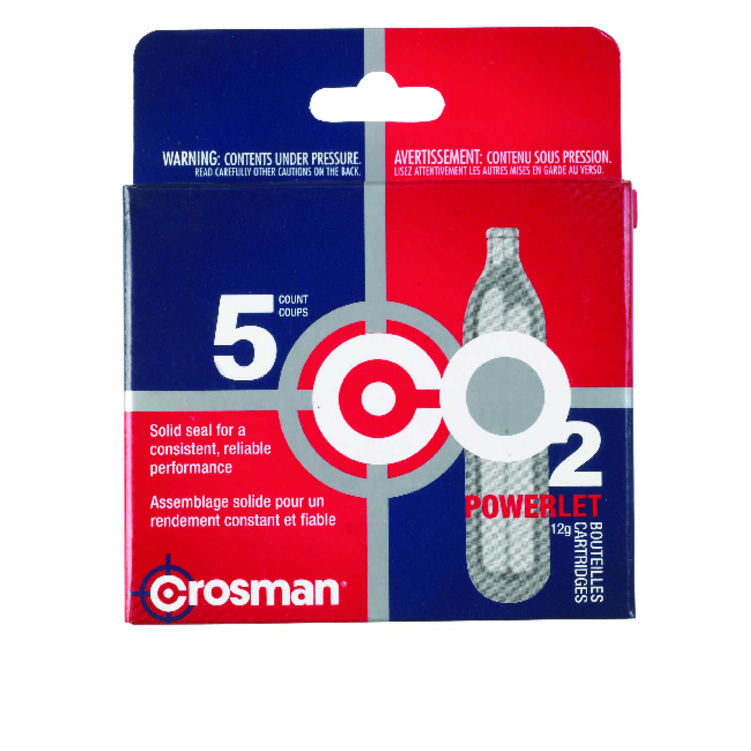 Crosman  CO2 Cartridge  1 pk