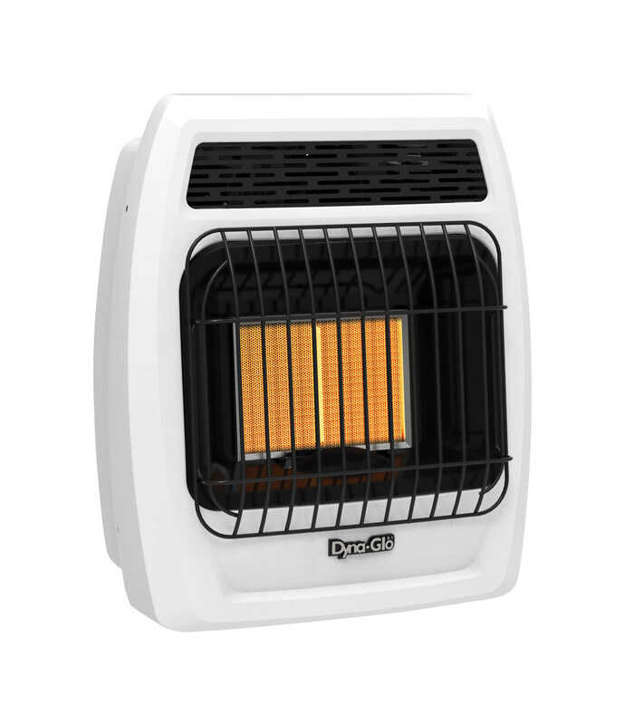 Dyna-Glo  300 sq. ft. 12000 BTU Natural Gas/Propane  Wall Heater