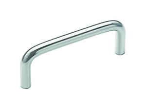 Amerock  Allison  Allison  Cabinet Pull  3 in. Polished Chrome  1 pk