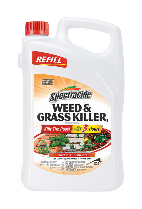 Spectracide  Concentrate  Weed and Grass Killer Refill  1.33