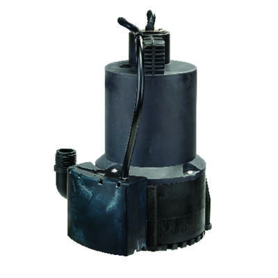 Wayne  1/4 hp 3000 gph Thermoplastic  Electronic Switch  AC  Utility Pump