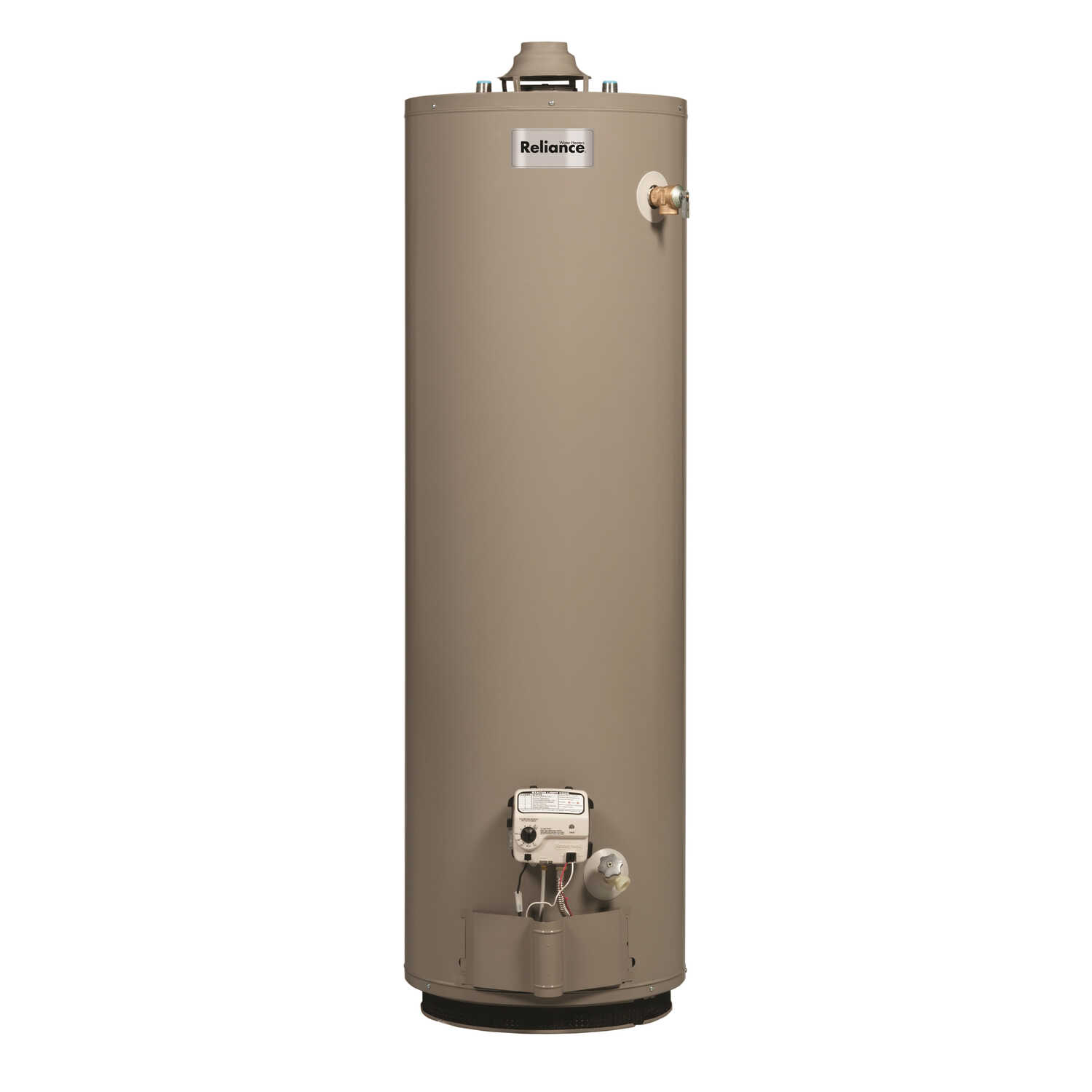 Reliance  Natural Gas  Water Heater  61-3/4 in. H x 18 in. W x 18 in. L 30 gal.