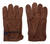 Ace  M  Suede Cowhide  Driver  Brown  Gloves