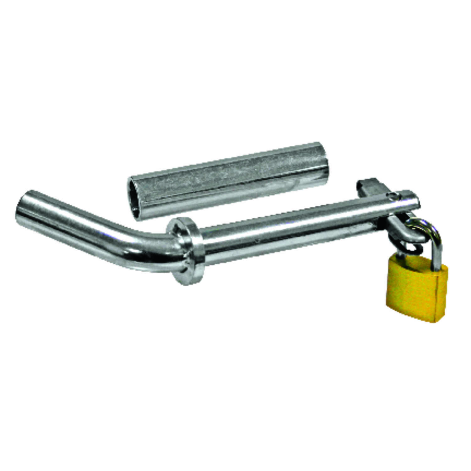 Reese  Towpower  Brass  Locking  1/2 - 5/8 in. Receiver and Coupler Lock