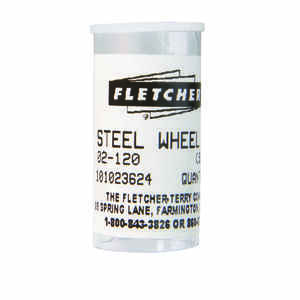 Fletcher  Steel  Single Edge  Glass Cutting Wheel  1/8 in. L 10 pc.
