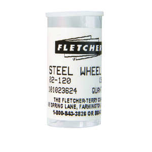 Fletcher  1/8 in. L Steel  Single Edge  Glass Cutting Wheel  10 each