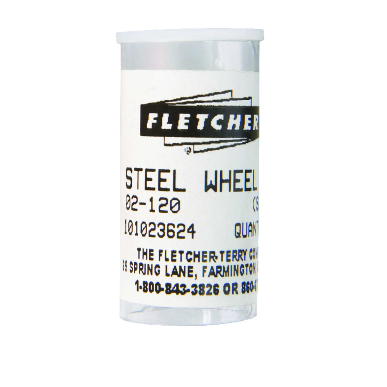Fletcher  1/8 in. L Steel  Single Edge  Glass Cutting Wheel  10 pc.