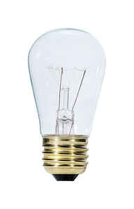 Westinghouse  11 watts S14  Incandescent Bulb  63 lumens White  Speciality  1 pk