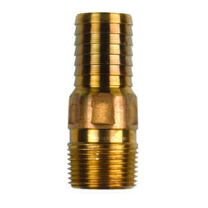 Campbell  Red Brass  Male Adapter  1 in.  x 3.5 in. L