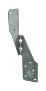 Simpson Strong-Tie  6 in. H x 1.69 in. W 18 Ga. Galvanized Steel  Hurricane Tie