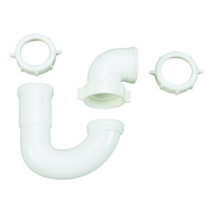 Ace  1-1/2 in. Dia. Plastic  Sink Trap