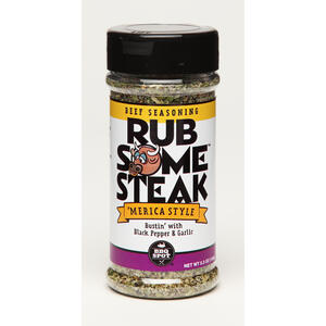 BBQ Spot Rub Some  Black Pepper and Garlic  Seasoning Rub  5.3 oz.