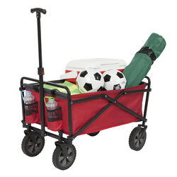 Seina  Road Warrior  Polyester Fabric  Utility Cart  3.6 cu. ft.