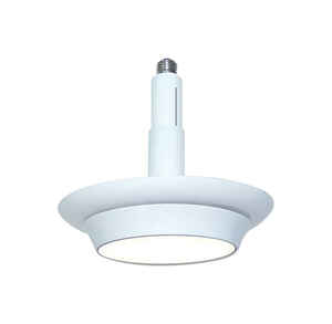CooLEDlite  Matte  White  4/5/6 in. W Plastic  LED  Recessed Light  9 watts