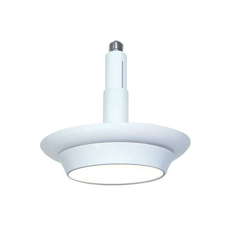 CooLEDlite  White  4/5/6 in. W Matte  9 watts LED  Recessed Light  Plastic