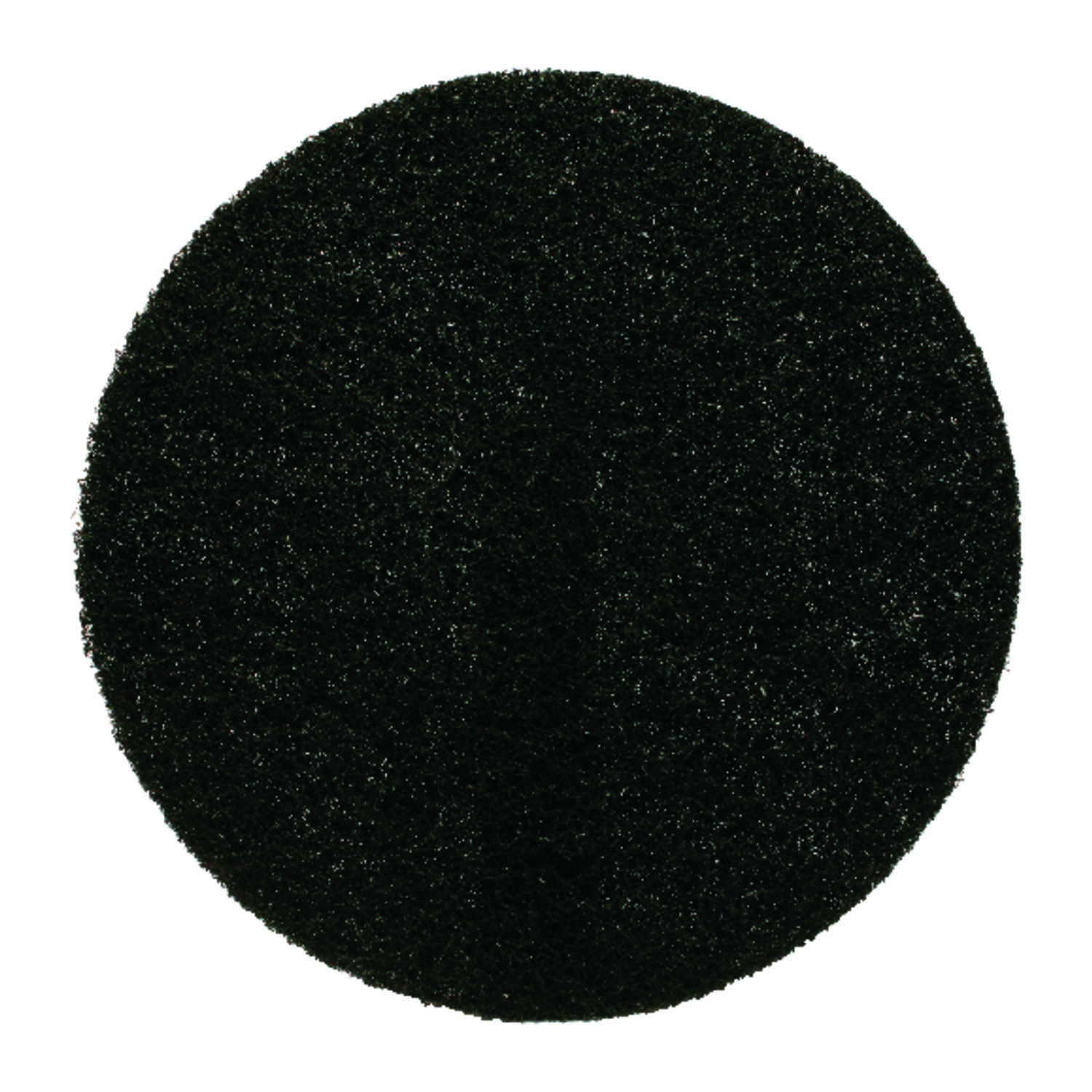 Gator  17 in. Dia. Non-Woven Natural/Polyester Fiber  Floor Pad Disc  Black
