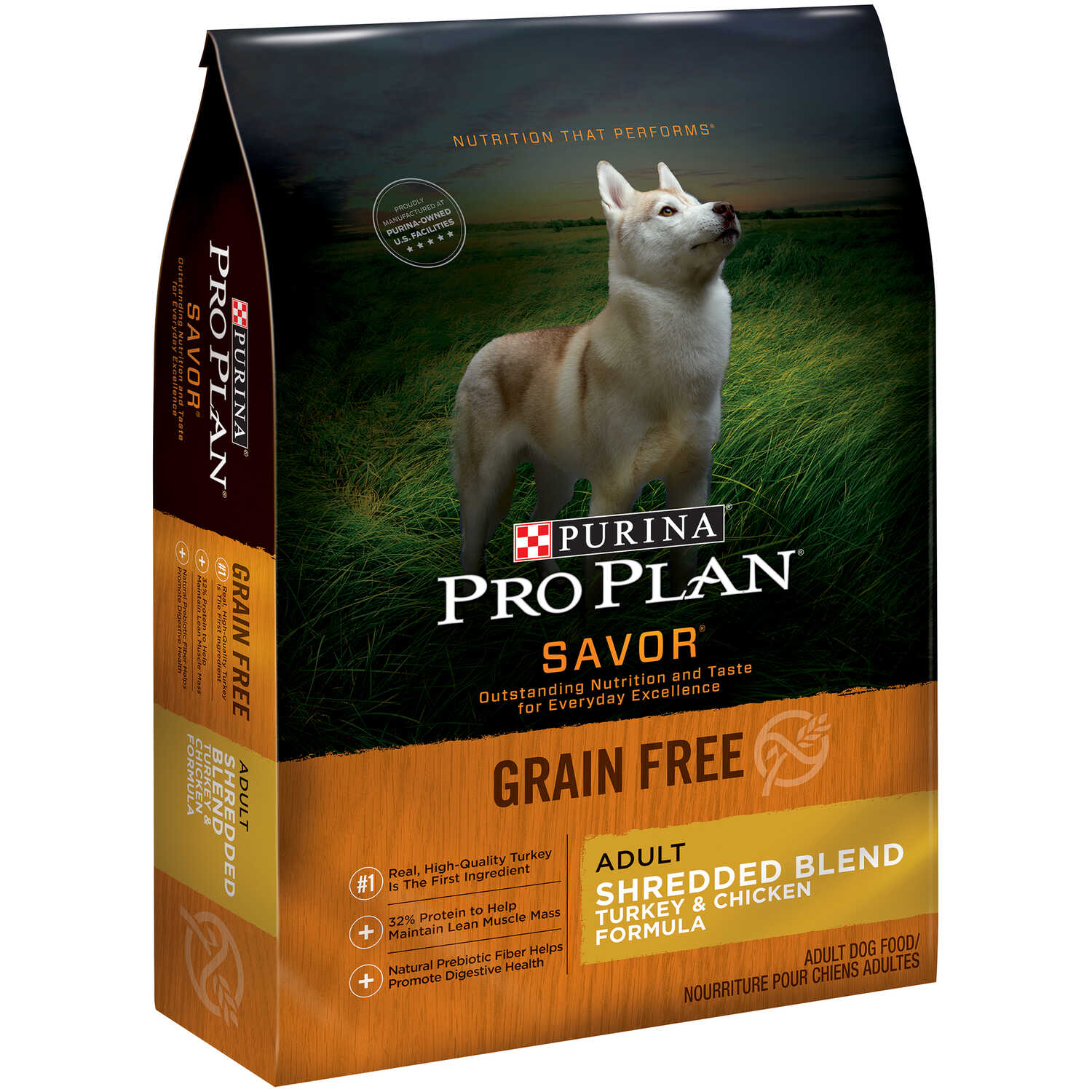 Purina  Pro Plan Savor  Turkey and Chicken  Dry  Dog  Food  Grain Free 4 lb.