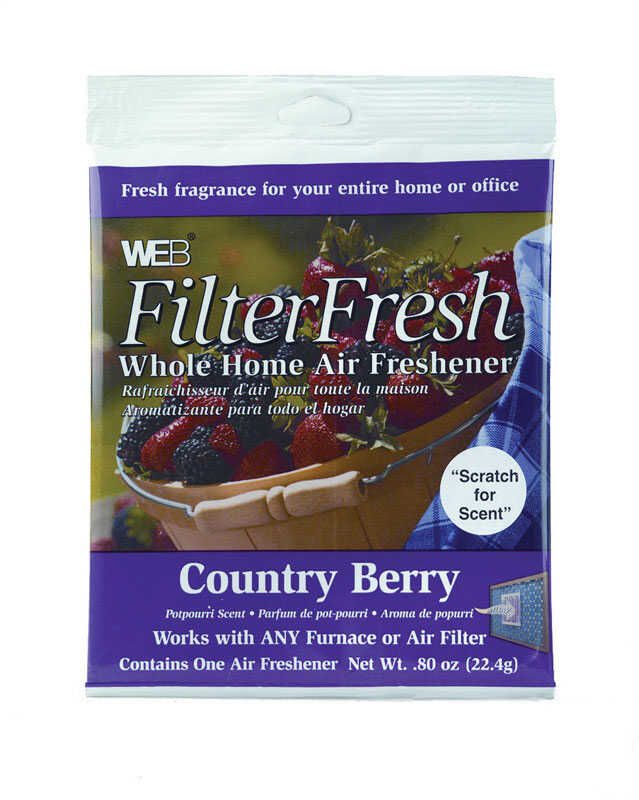 Web  Filter Fresh  Country Berry Scent Air Freshener  0.8 oz. Gel