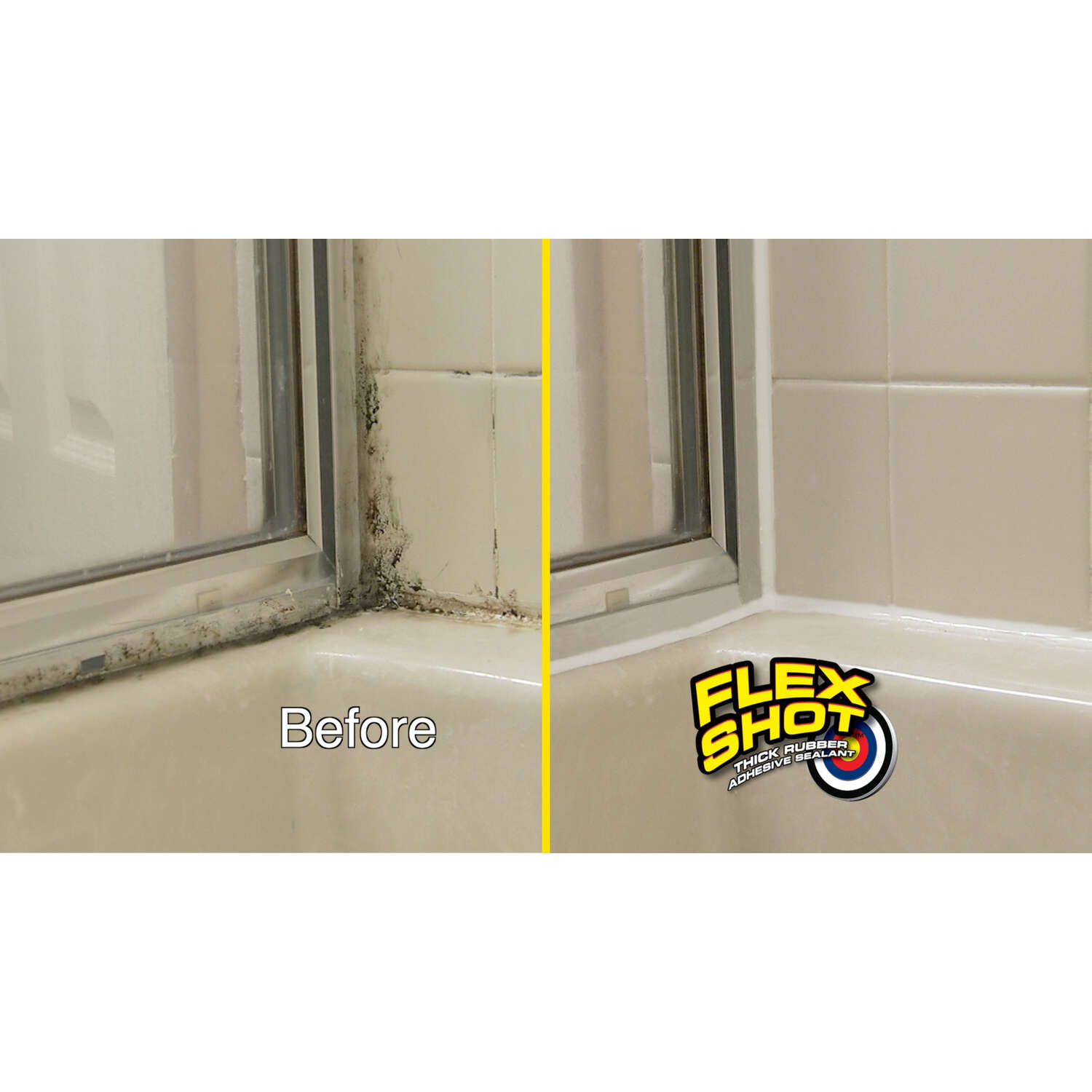 Flex Seal  As Seen On TV  Clear  Rubber Sealant  8 oz Can