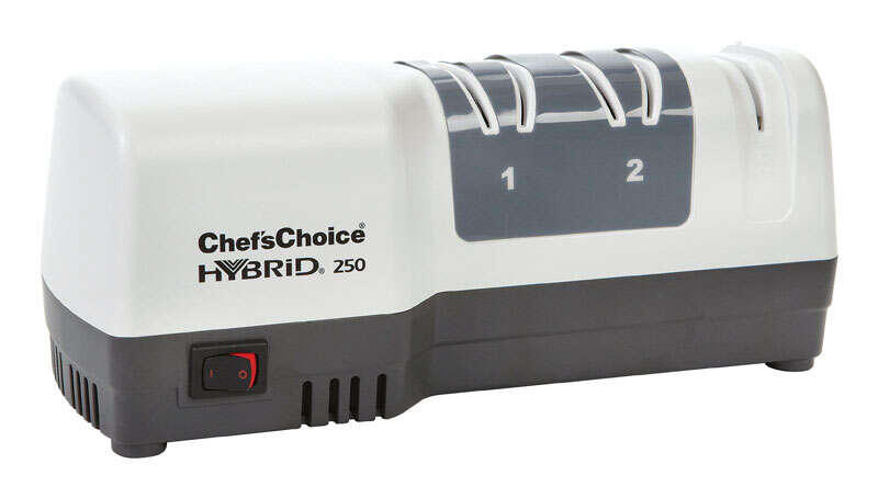 ChefsChoice  Gloss  Diamond Abrasive  3  Knife Sharpener  White