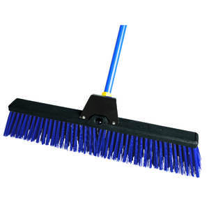 Ace  Rough Surface Push Broom  24 in. W x 60 in. L Synthetic
