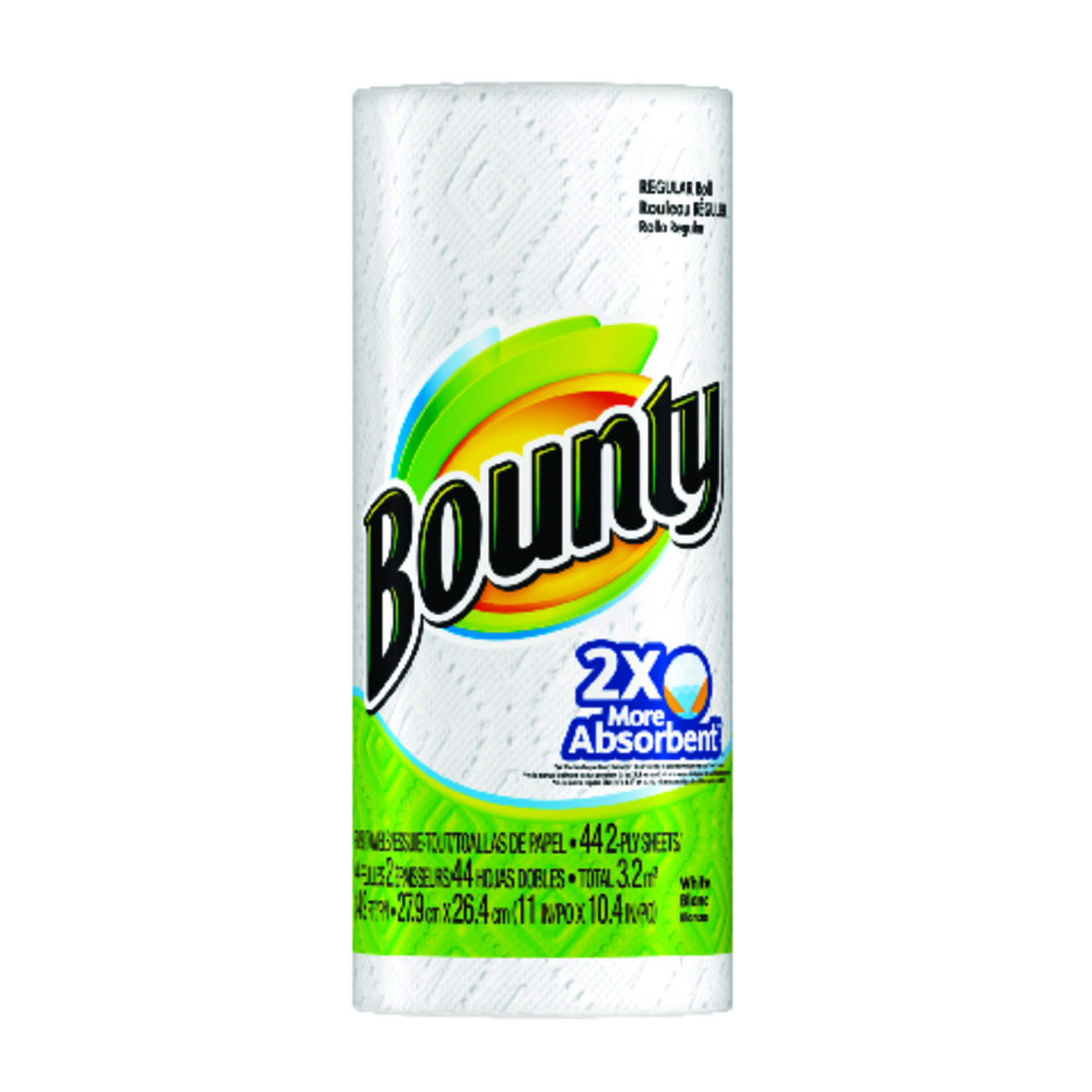 Bounty  Paper Towel Rolls  40 sheet 2 Ply 1 roll