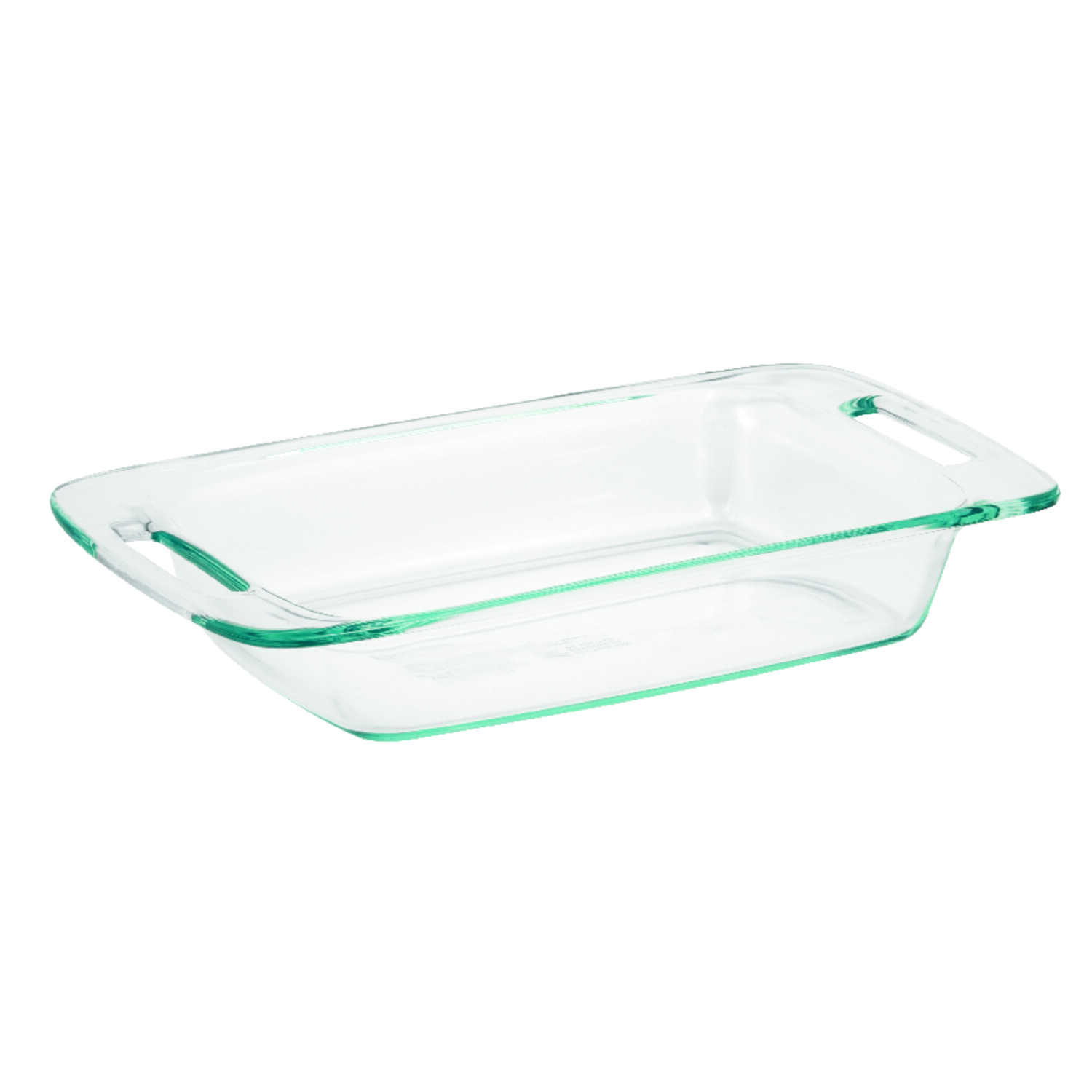 Pyrex  9 in. W x 16 in. L Oblong Dish  Clear