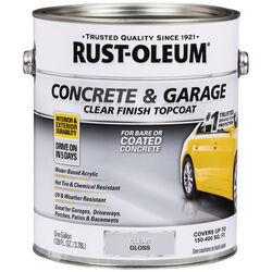 Rust-Oleum  Concrete & Garage  Gloss  Clear  Floor Paint  1 gal.