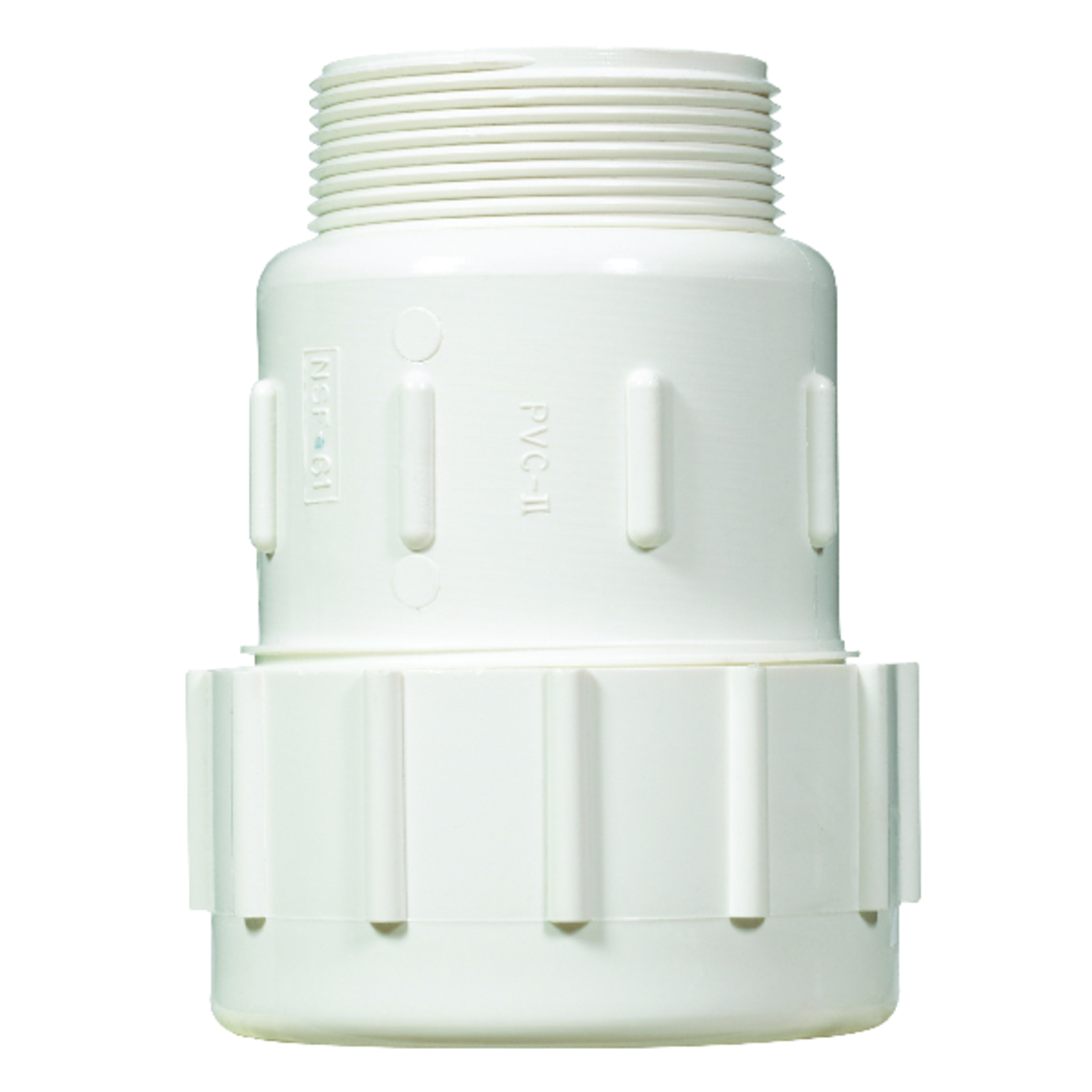 NDS  2 in. Compression   x 2 in. Dia. MPT  Male Adapter