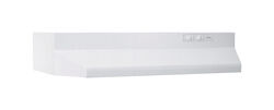 Broan 30 in. W White Range Hood