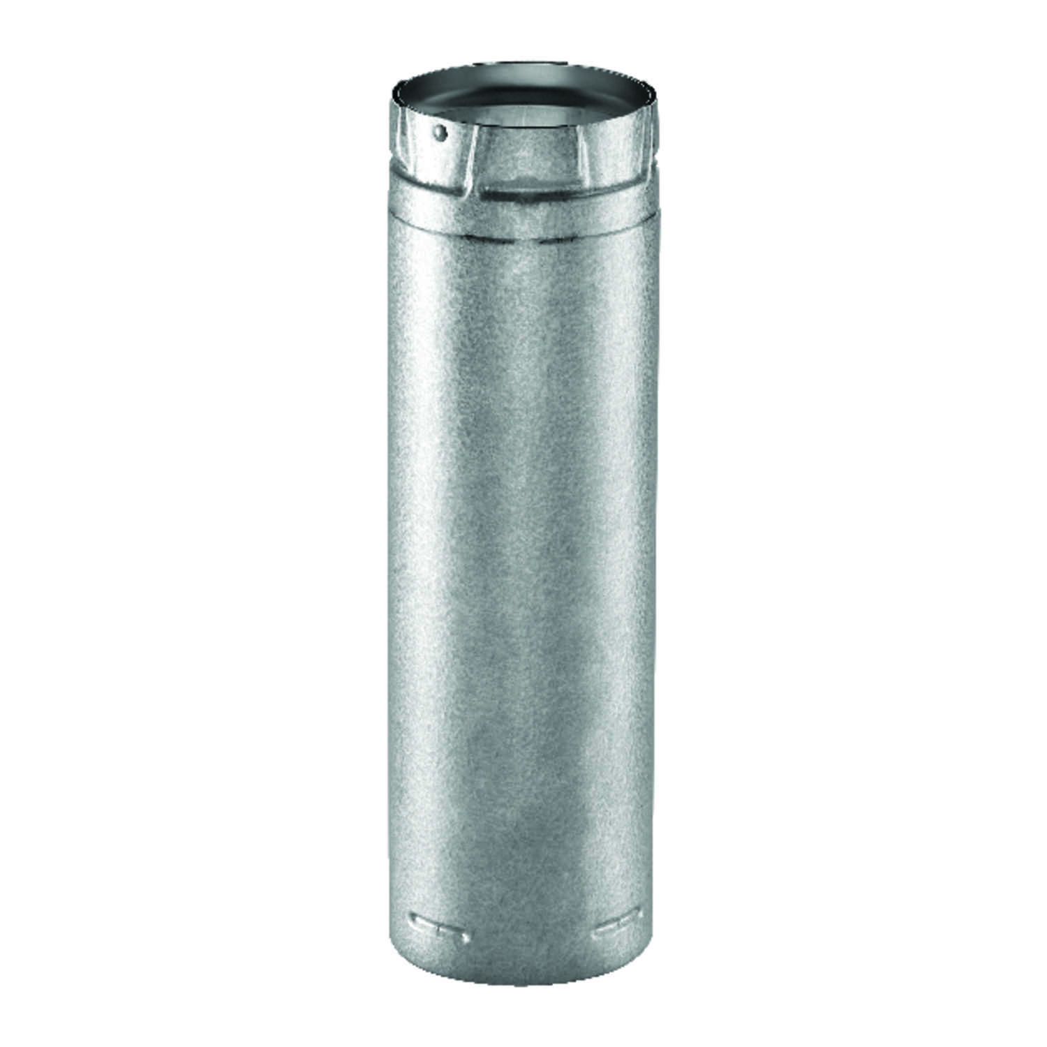 Duravent  3 in. Dia. x 60 in. L Galvanized Steel  Double Wall Stove Pipe