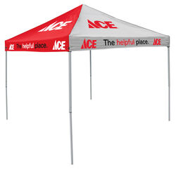 Logo Brands  Polyester  Square  Canopy  9 ft. W x 9 ft. L