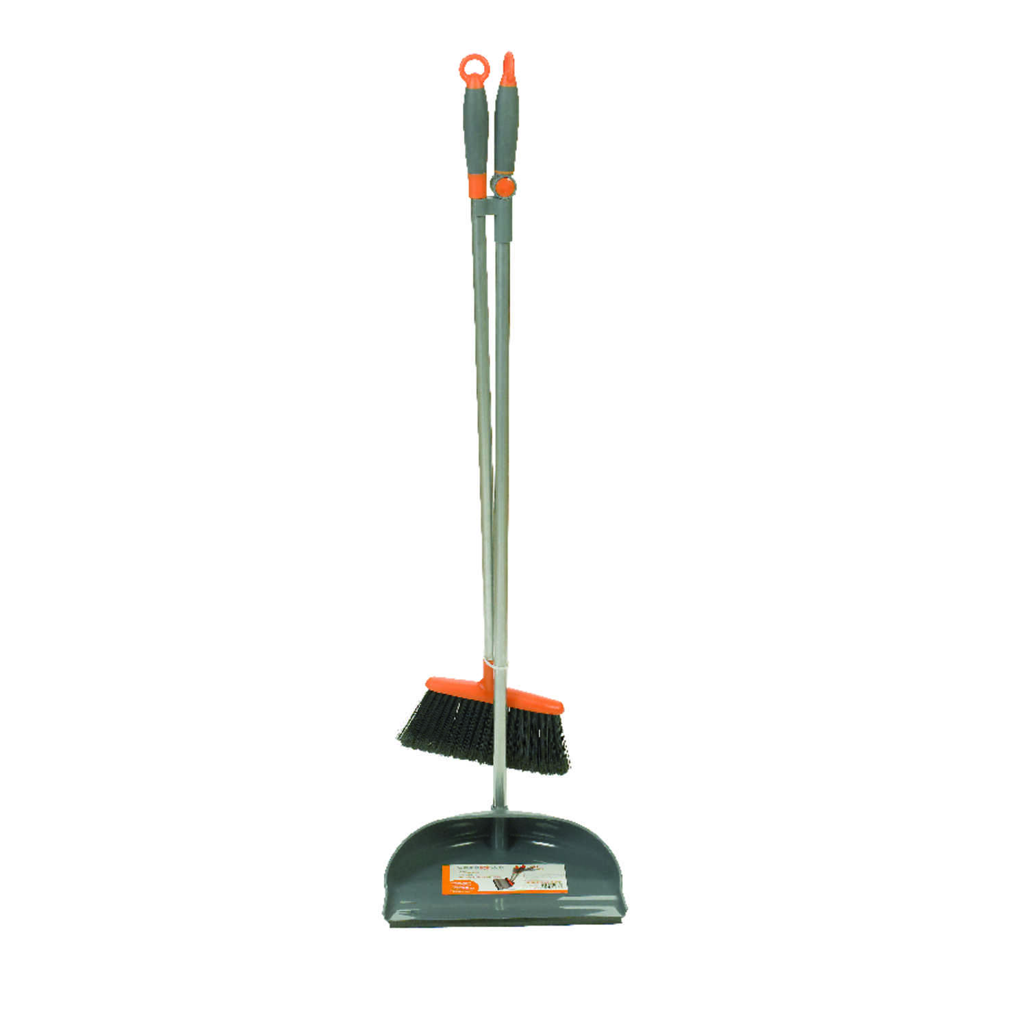 Casabella  Soft  Rubber  Broom with Dustpan