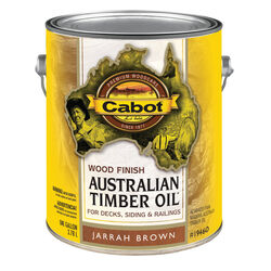 Cabot  Transparent  Jarrah Brown  Oil-Based  Natural Oil/Waterborne Hybrid  Australian Timber Oil  1