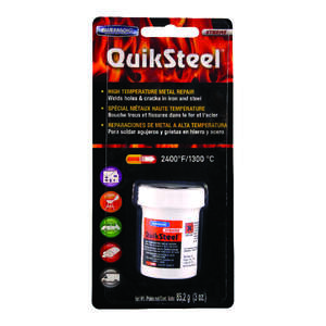 Blue Magic  QuikSteel  High Strength  Paste  High Temperature Metal Repair  2 oz. 1
