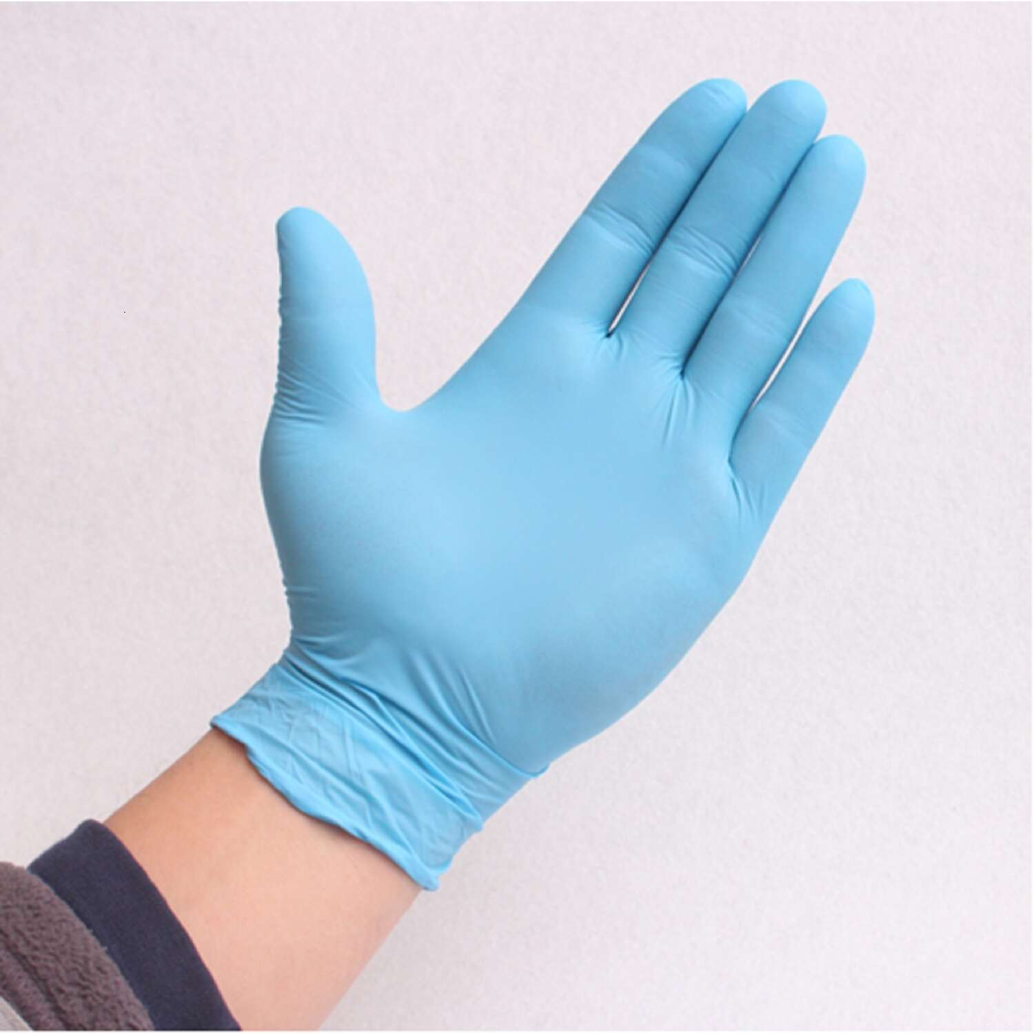 Tirol  Nitrile  Disposable Gloves  Medium  Blue  Powder Free  100 pk