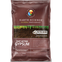 Earth Science Gypsum 5000 sq. ft. 25 lb.