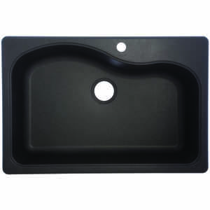 Franke  Composite Granite  Dual Mount  33 in. W x 22 in. L Kitchen Sink  Graphite