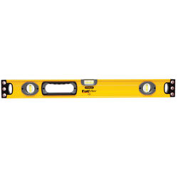 Stanley FatMax 24 in. Aluminum Box Beam Level 3 vial