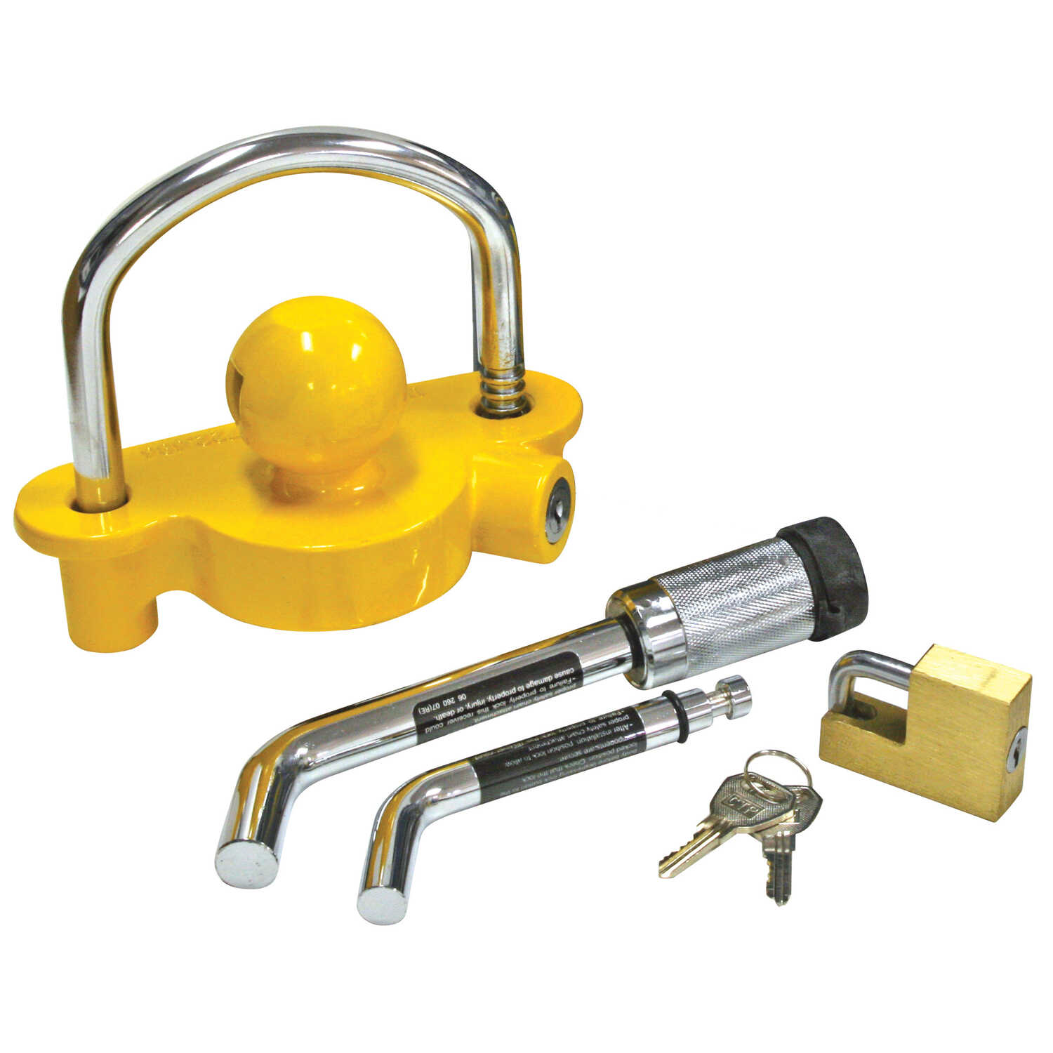 Reese  Towpower  Steel  Receiver and Coupler Lock