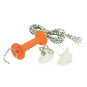 Gallagher  Electric Bungee Gate Kit  White/Orange