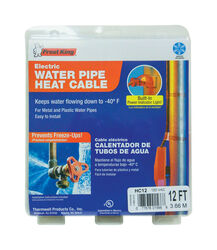 Frost King Thermwell Products 12 ft. L Heating Cable For Water Pipe