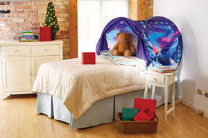 Ontel Dream Tents  As Seen on TV  Winter Wonderland  Bed Tent  Nylon  1 pk