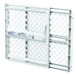 North States  26 in. H x 26-42 in. W Plastic  Pet Gate