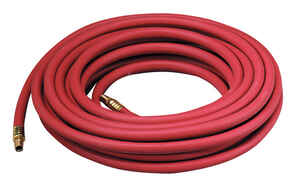 Thermoid  50 ft. L x 3/8 in. Dia. Air Hose  EPDM Rubber  250 psi Red
