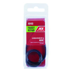 Ace 1.5 in. Dia. x 1.3 in. Dia. Rubber O-Ring Repair Kit 3 pk