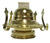 Lamplight Farms  5 in. L Flat Wick Shape Metal  Oil Lamp Burner with Wick  1 count