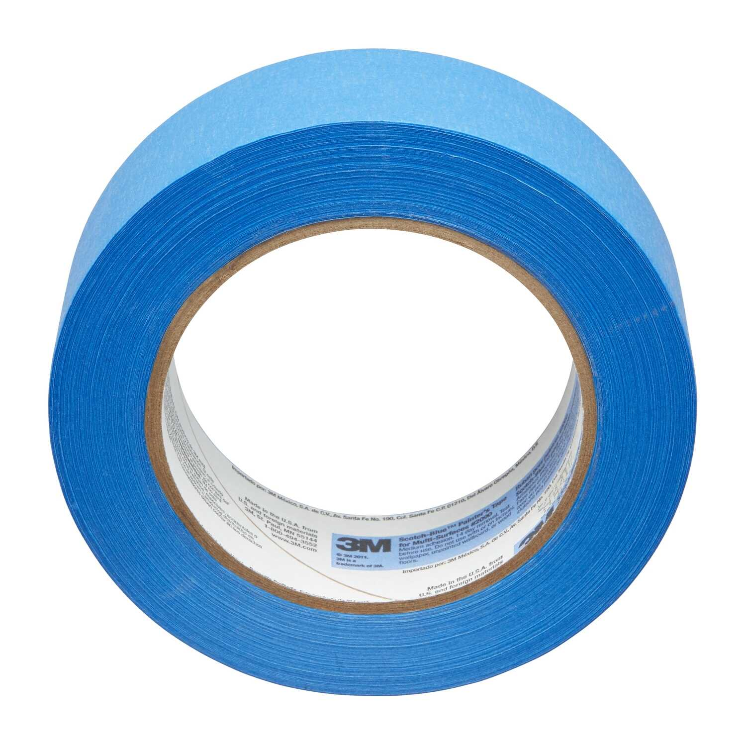 3M  Scotch Blue  2.83 in. W x 60 yd. L Blue  Medium Strength  Painter's Tape  1 pk